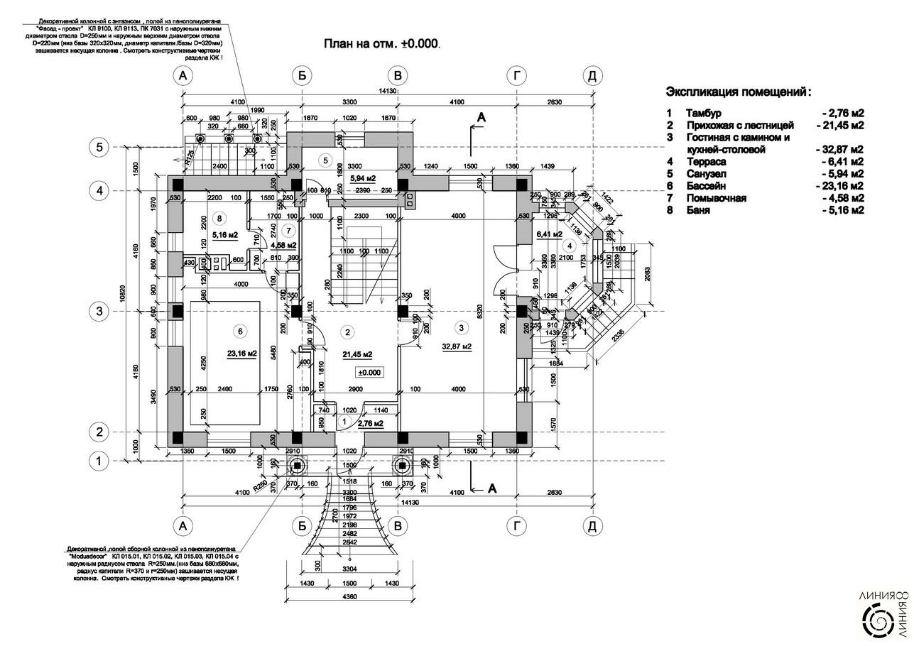 бланк технического задания на архитектурный проект