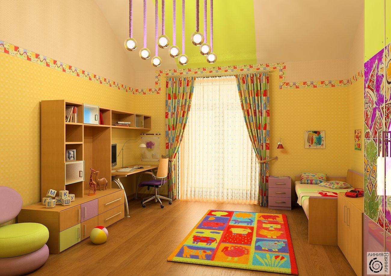 Ремонт в детской комнате для двух мальчиков своими руками