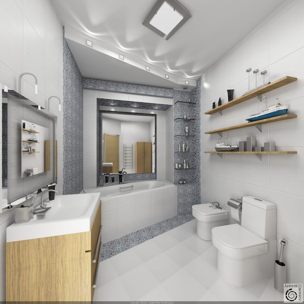 Дизайн санузлов ванных комнат