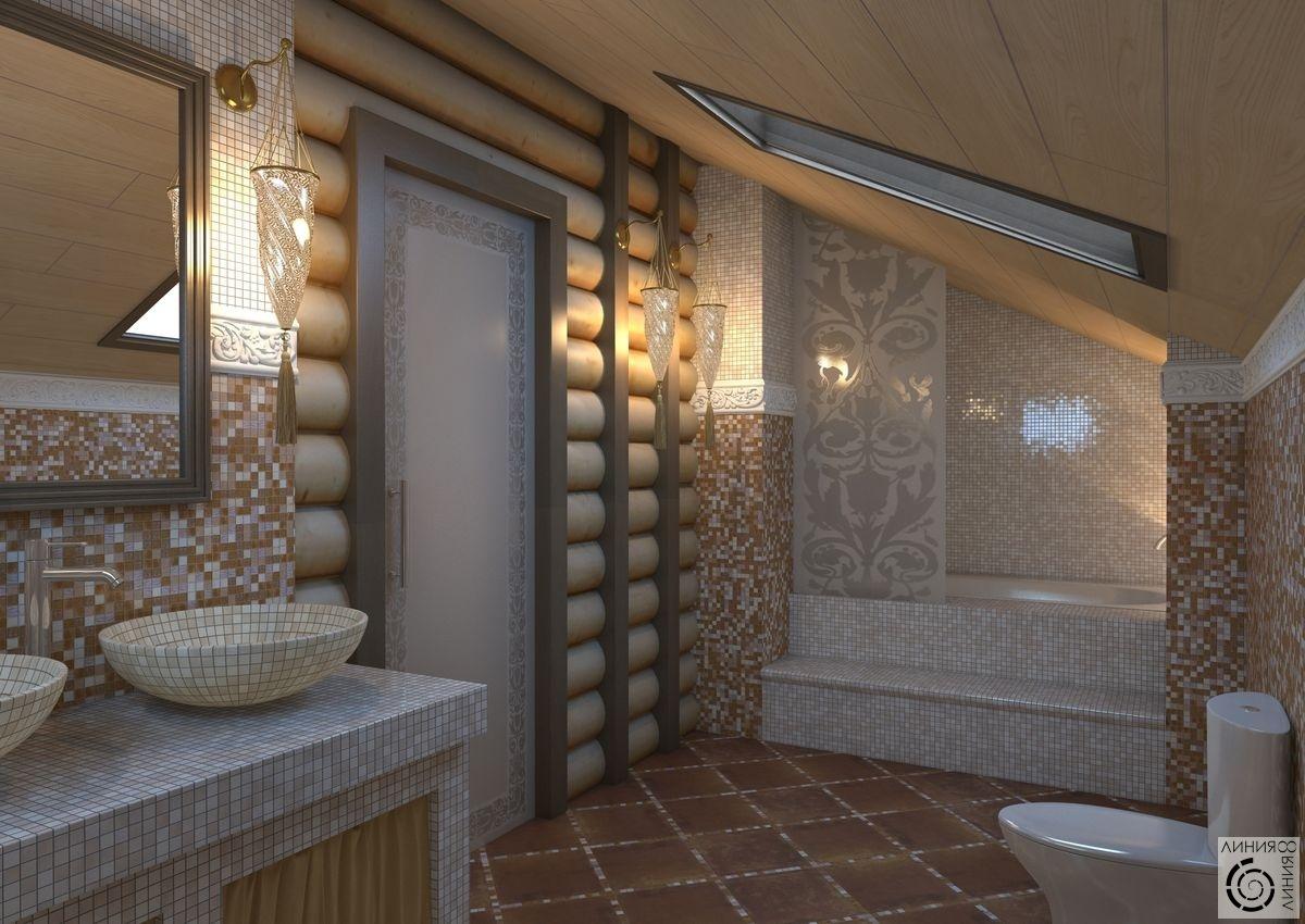 Ванна в деревянном доме своими руками фото