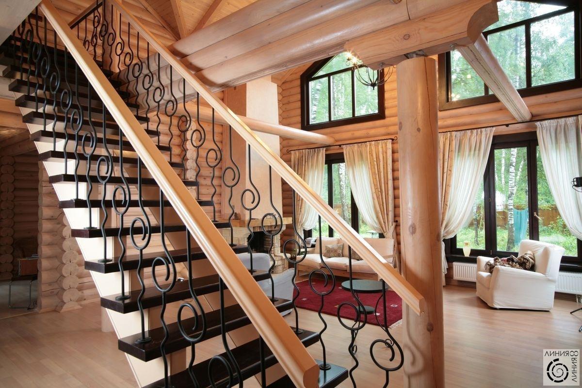 Второй свет в деревянном доме дизайн фото