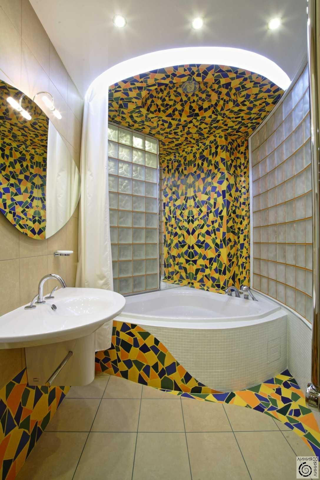 Ванные комнаты фото мозаика своими руками