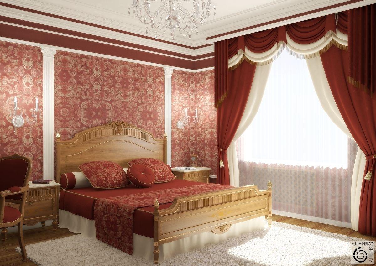 дизайн спальни с бордовыми обоями фото мотоциклов, размещенные